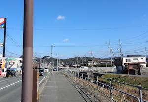 山大周辺(コスモ石油付近)