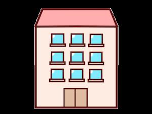 鉄筋コンクリート造の学生アパート・マンション